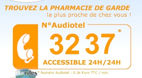 Pharmacie Audiotel