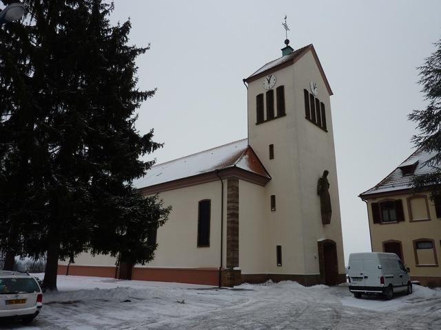 Eglise schirrhein-schirrhoffen